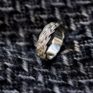 Turk head sterling silver ring