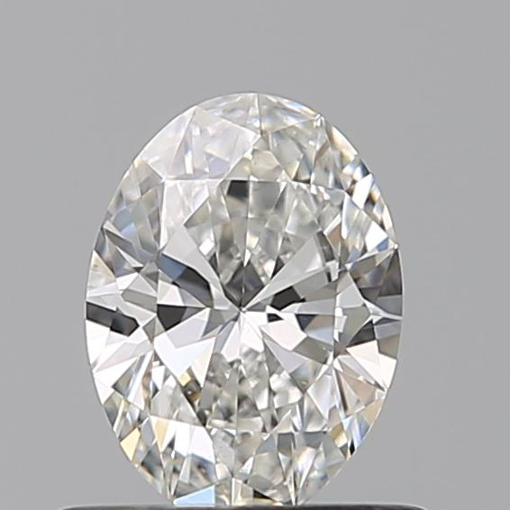 0.5 ct natural white oval diamond