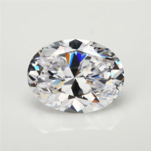 TIDAN - Moissanite White Oval