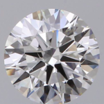TIDAN Lab grown Diamond 0.5 ct G - H Excellent cut front view
